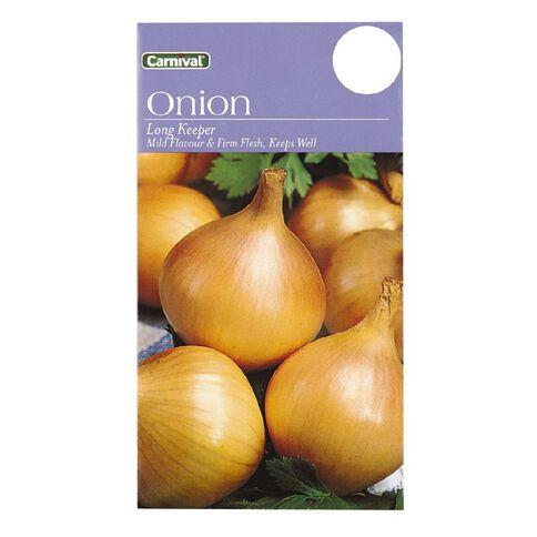 Carnival Long Keep Onion Vegetable Seeds