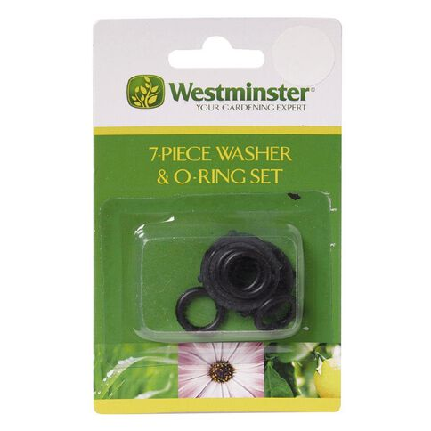 Westminster Hose Washer & O-Ring Set 7 Piece