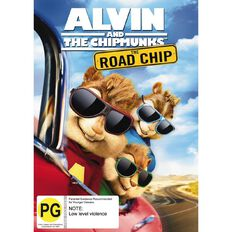 Alvin and The Chipmunks Road Chip DVD 1Disc