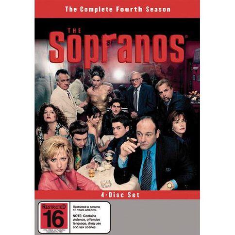 The Sopranos Season 4 DVD 4Disc
