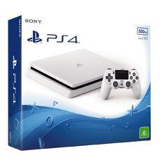 PS4 Console Slimline 500GB White