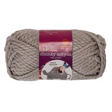Knitwise Yarn Chunky Acrylic Ash Fashion 150g