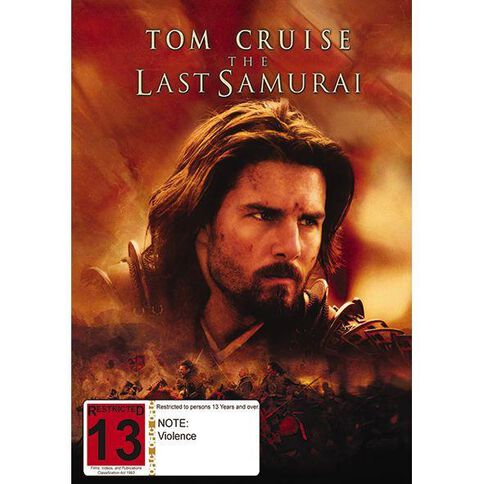 The Last Samurai DVD 1Disc