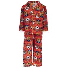 Paw Patrol Toddler Boys' Flannelette Pyjamas