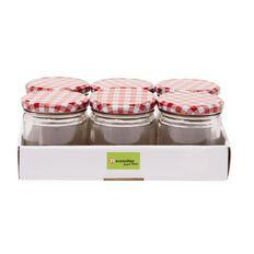 Necessities Brand Preserving Jar 300ml 6 Pack