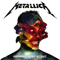 Hardwired to Self Destruct Standard Edition CD by Metallica 2Disc