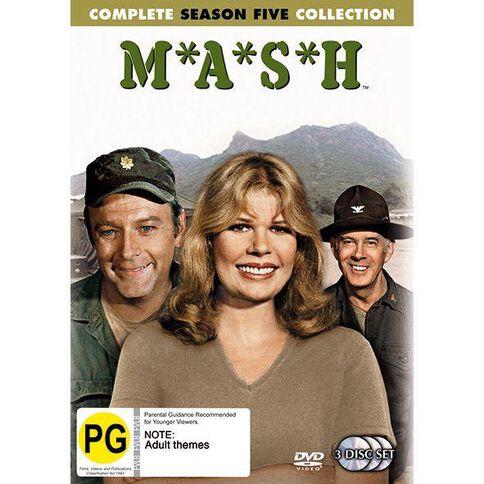 Mash Season 5 DVD 3Disc