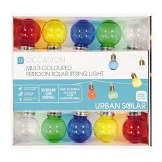 Multi-coloured Festoon Lights 10 LED