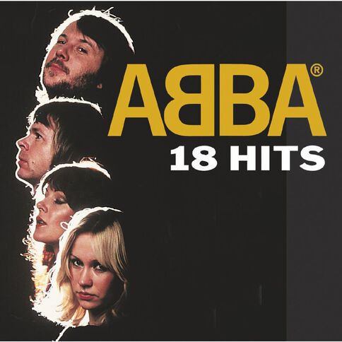 18 Hits CD by Abba 1Disc