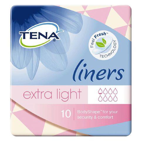 Tena Light Liner 10s