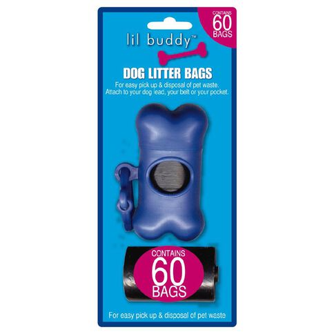 Lil Buddy Litter Bag Pack
