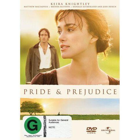 Pride and Prejudice DVD 1Disc