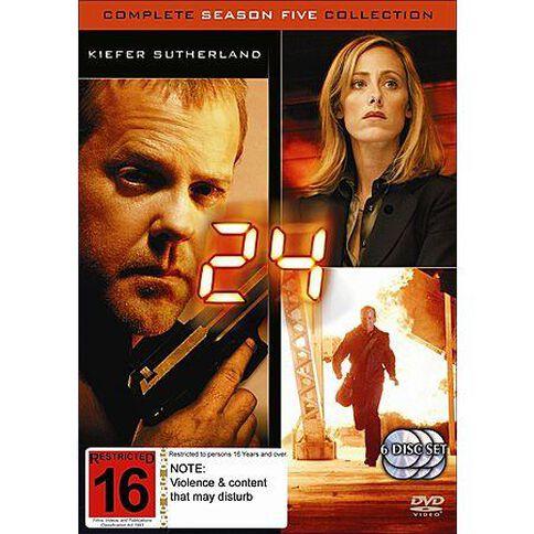 24 Season 5 DVD 6Disc