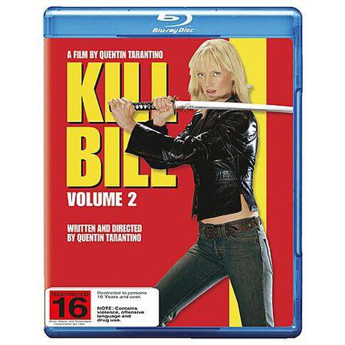 Kill Bill Vol 2 Blu-ray 1Disc