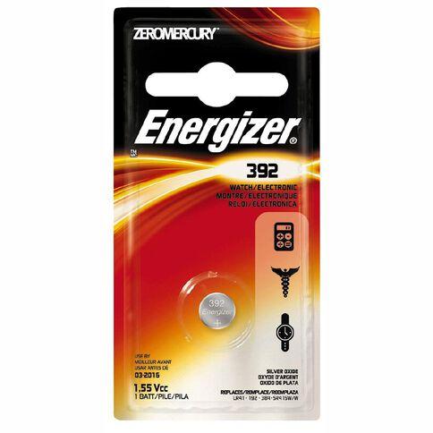 Energizer Silver Oxide Watch Battery - 392BP1 1.5 volt