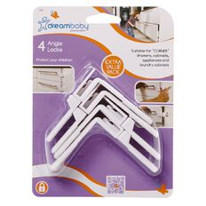 Dreambaby Safety Angle Locks 4 Pack