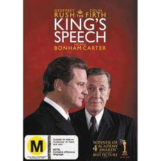 The Kings Speech DVD 1Disc