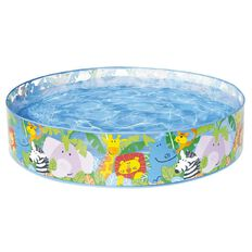 Intex Happy Animals Clear View Snapset Pool 4 Feet