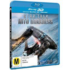 Star Trek Into Darkness 3D Blu-ray 2Disc