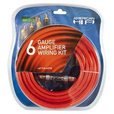 American Hi-Fi 6 Gauge AMP Installation Kit