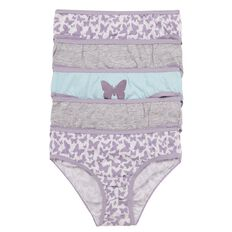 H&H Girls' Briefs 5 Pack
