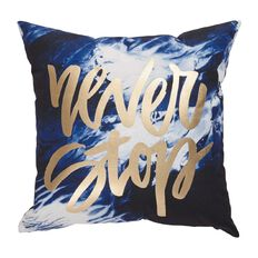 Living & Co West Bay Cushion Never Stop