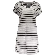 Maya Striped T-Shirt Dress