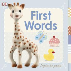 Sophie La Girafe: First Words Lift the Flap Board Book