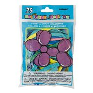 Unique Balloons Twist and Shape 25 Pack