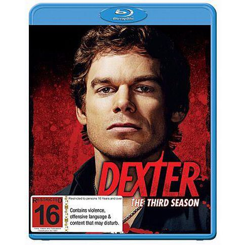 Dexter Season 3 Blu-ray 4Disc