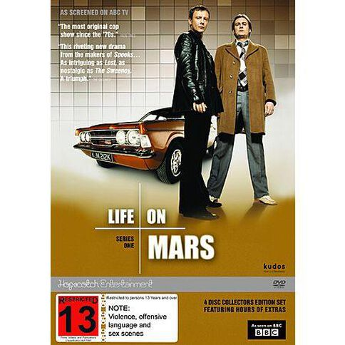 Life on Mars Complete Season 1 DVD 4Disc