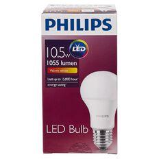 Philips LED Bulb 10.5-75W E27 3000K 230V A60AU/PF Warm White