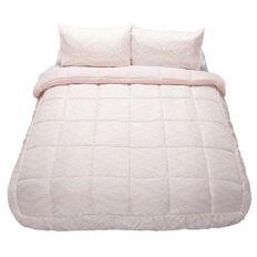 Living & Co Comforter Set Duo Ava Blush