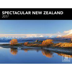 Calendar 2017 Spectacular New Zealand Horizontal Wall
