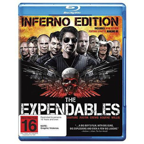 The Expendables Inferno Blu-ray 1Disc
