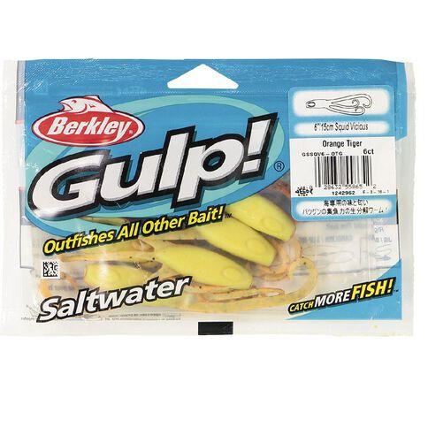 Gulp Soft Bait Squid 6in