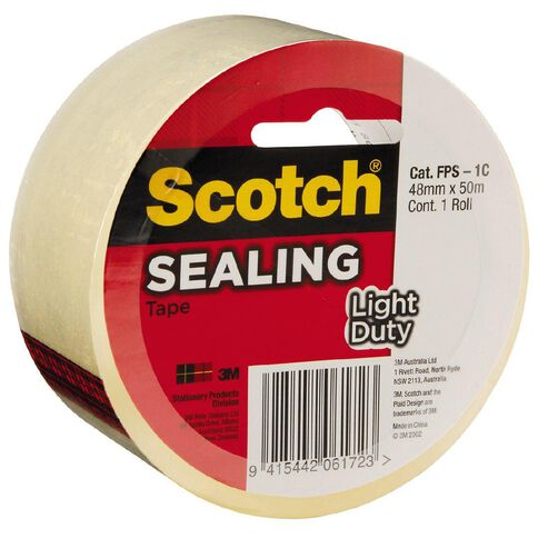 Scotch Sealing Tape 3609 Clear 48mm  x  50m