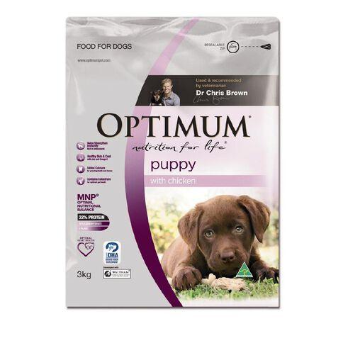 Optimum Puppy with Chicken 3kg