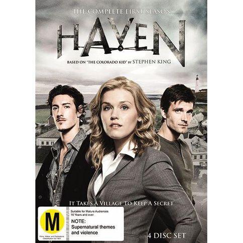 Haven Season 1 DVD 4Disc