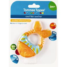 Tommee Tippee Coolfish Teether 3 Month Plus Assorted