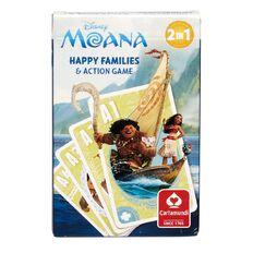 Moana Happy Families Card Game