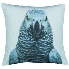 Living & Co Cushion Tropic Parrot Photoreal Print
