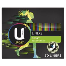 U By Kotex Liners Sport 30s