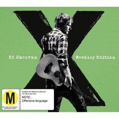 X Wembley Edition CD/DVD by Ed Sheeran 2Disc