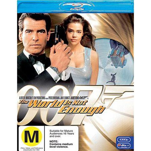 James Bond: World Is Not Enough (Blu-ray) 1 Blu-ray Disc