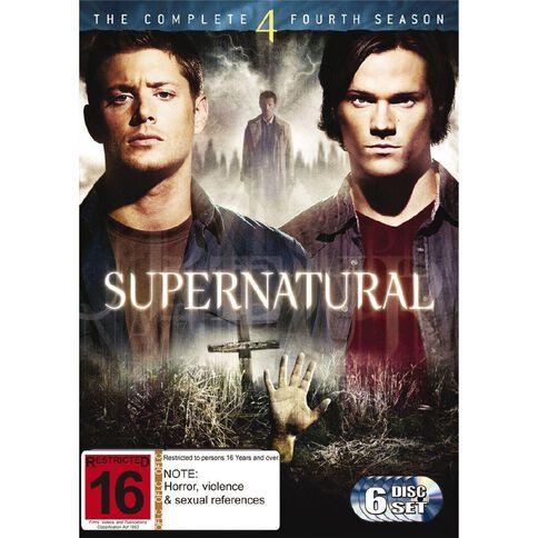 Supernatural Season 4 DVD 6Disc