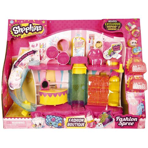 Shopkins Fashion Boutique Play Set Assorted