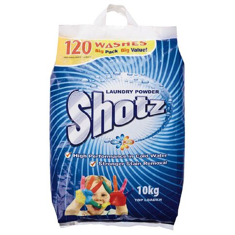 Shotz Laundry Powder Bag 10kg