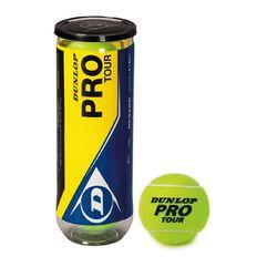 Dunlop Pro Tour Tennis Balls 3 Pack
