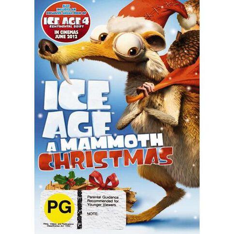Ice Age Mammoth Christmas DVD 1Disc